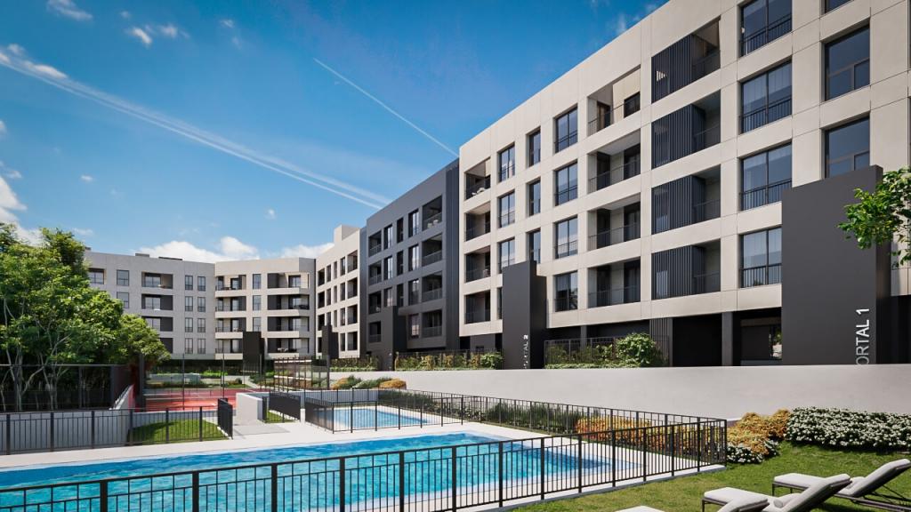 swimming pool building la menina